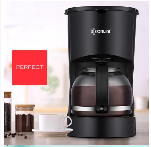 Máy pha cafe trà tự động Donlim  DL-KF200  thông minh chuyên nghiệp dung tích 600ml  bền đẹp