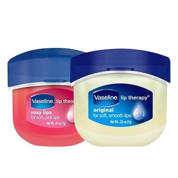 Sáp Dưỡng Ẩm Vaseline  Môi Hồng Xinh Với Vaseline Lip Therapy Rosy Lip  Môi Mềm Mại Với Lip Therapy Original Sáp Chống Nẻ Dạng Hũ, Dưỡng Ẩm Đa Năng 7g