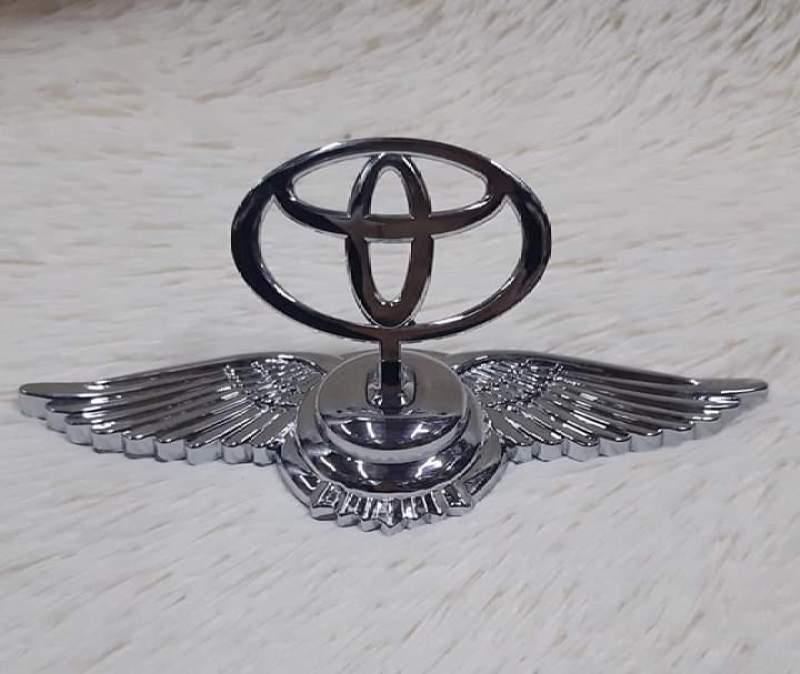 LOGO Đứng Cánh chim thiên thần gắn mui xe Hãng TOYOTA