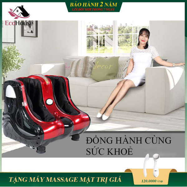 Máy massage chân cao cấp, máy massage chân và bàn chân thế hệ mới giúp giảm đau mỏi các khớp chân, tăng lưu thông máu cái thiện chứng mất ngủ. Bảo hành 2 năm, lỗi đổi mới trong 7 ngày đầu nhận sản phẩm. cao cấp