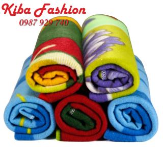 Chăn ủ nỉ sơ sinh loại to 90x1m siêu nhẹ, cực nhanh khô , chăn nỉ sơ sinh giá rẻ - Đồ cho trẻ sơ sinh , quần áo trẻ sơ sinh thumbnail