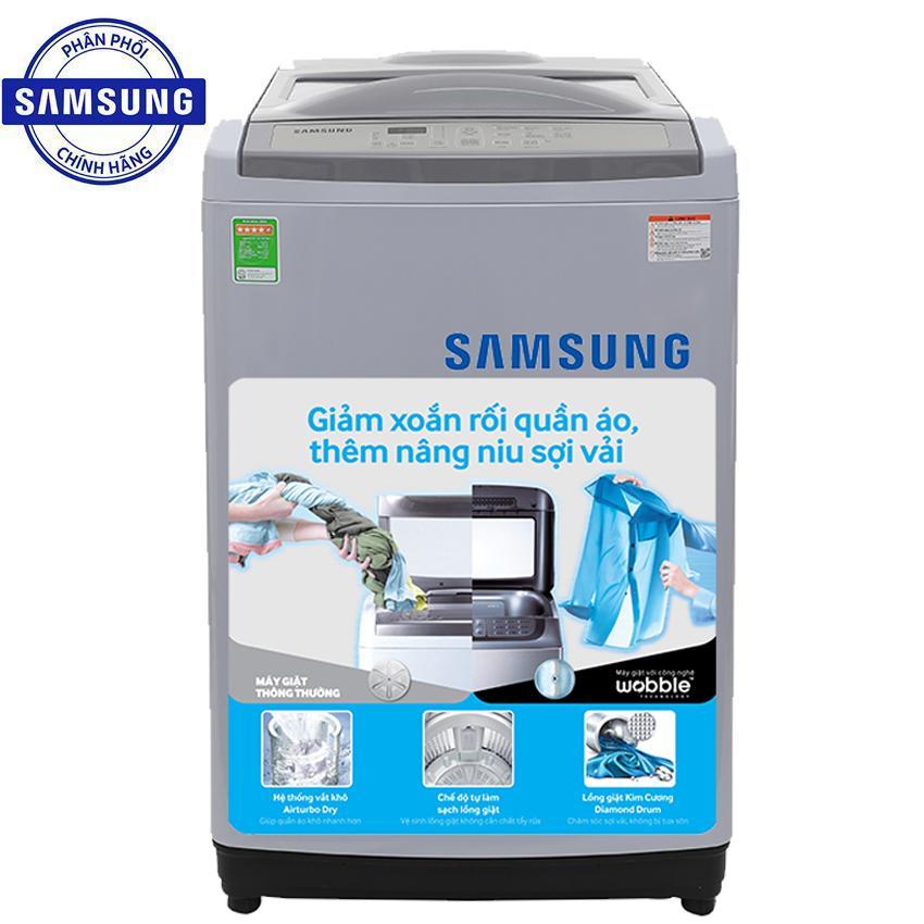 Máy Giặt Cửa Trên Samsung WA90M5120SG/SV 9kg (Xám)