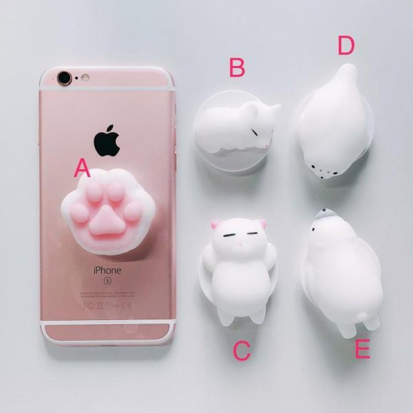 Bảng giá Đế đỡ điện thoại và máy tính bảng kiểu đồ chơi squishy hình mèo Phong Vũ