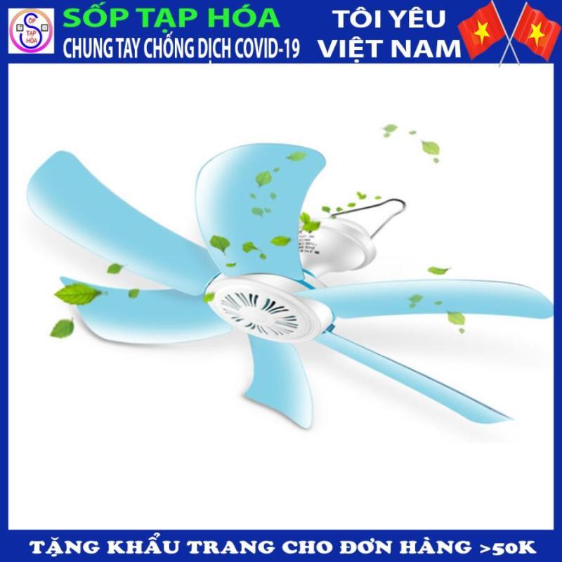 [TẶNG KHẨU TRANG VẢI] Quạt trần 6 cánh mang tới sự tươi mát cho mùa hè nóng nực