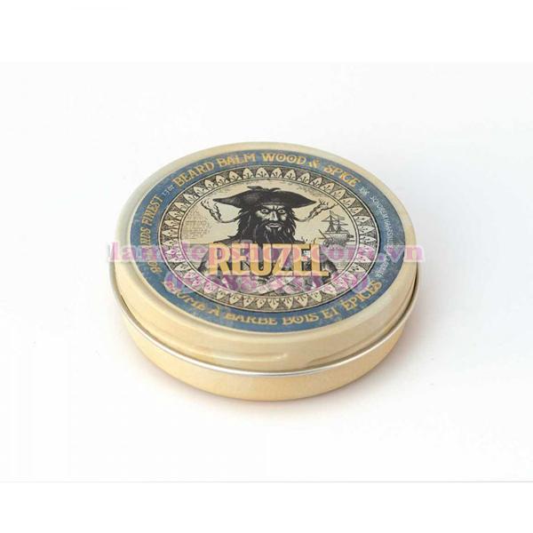 Kem dưỡng và tạo kiểu râu Reuzel Wood & Spice Beard Balm giá rẻ