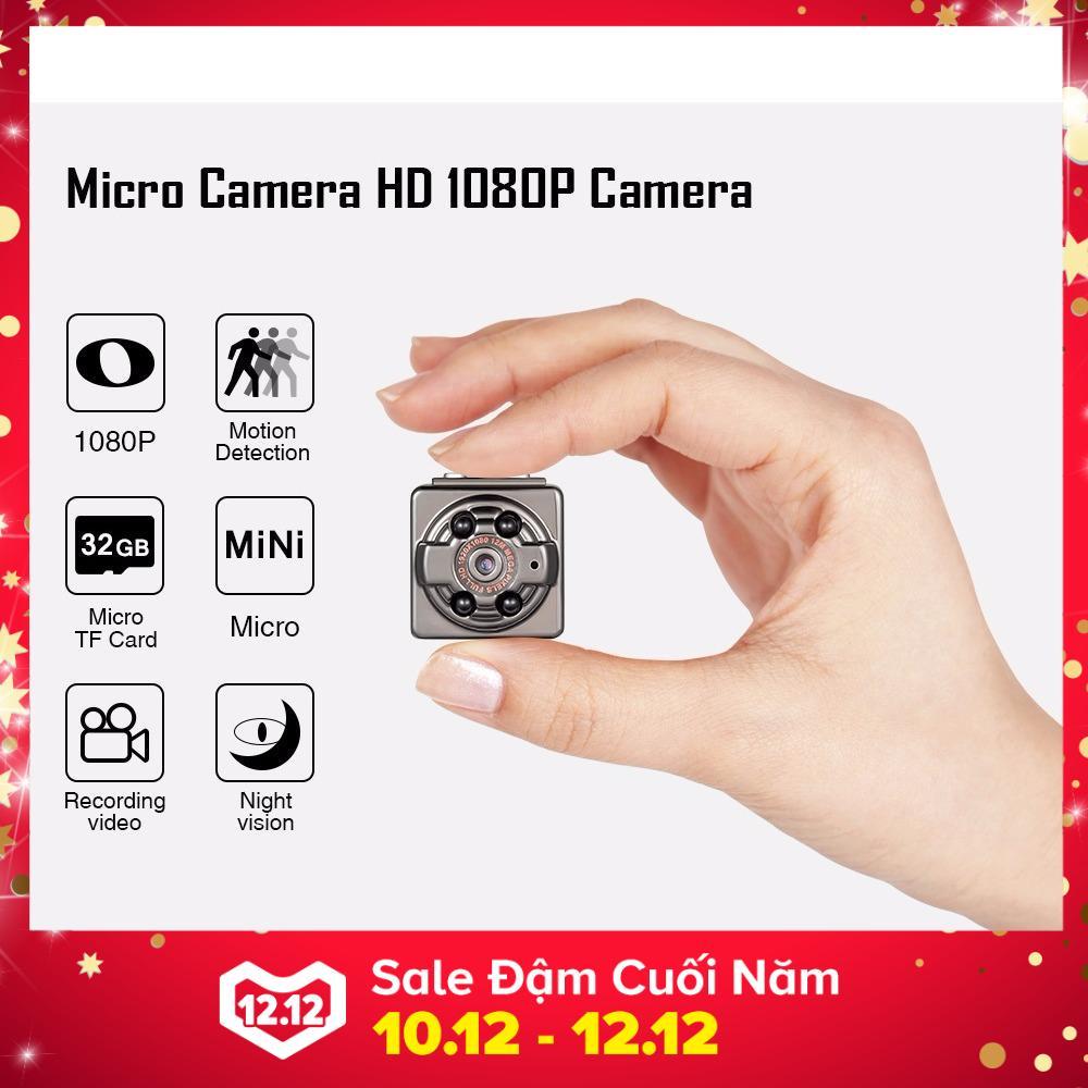 Hình ảnh Camera SQ8 Mini Hình Ảnh Full HD 1080P Âm Thanh Chân Thực