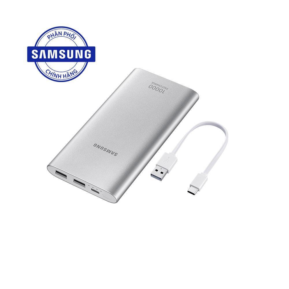 Pin sạc dự phòng Samsung EB-P1100 10.000mAh Micro-USB (Bạc)