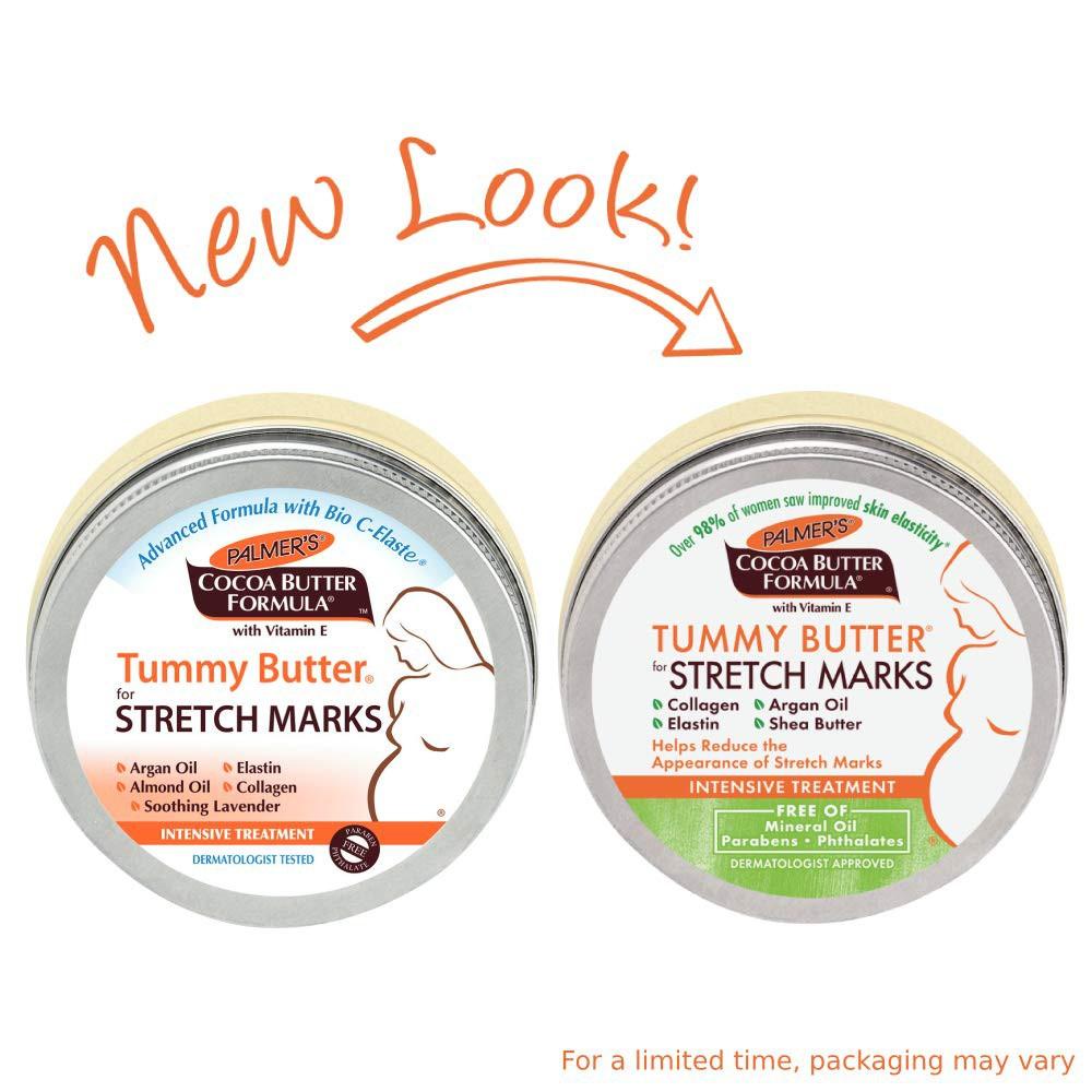 Voucher Khuyến Mãi Bơ Đậm Đặc Ngăn Ngừa Rạn Da Vùng Bụng Palmers Tummy Butter For Stretch Marks 125g