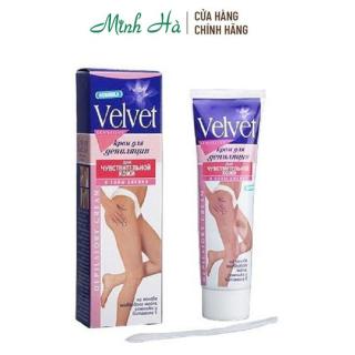 Kem tẩy lông Velvet Sensitive của Nga 100ml thumbnail