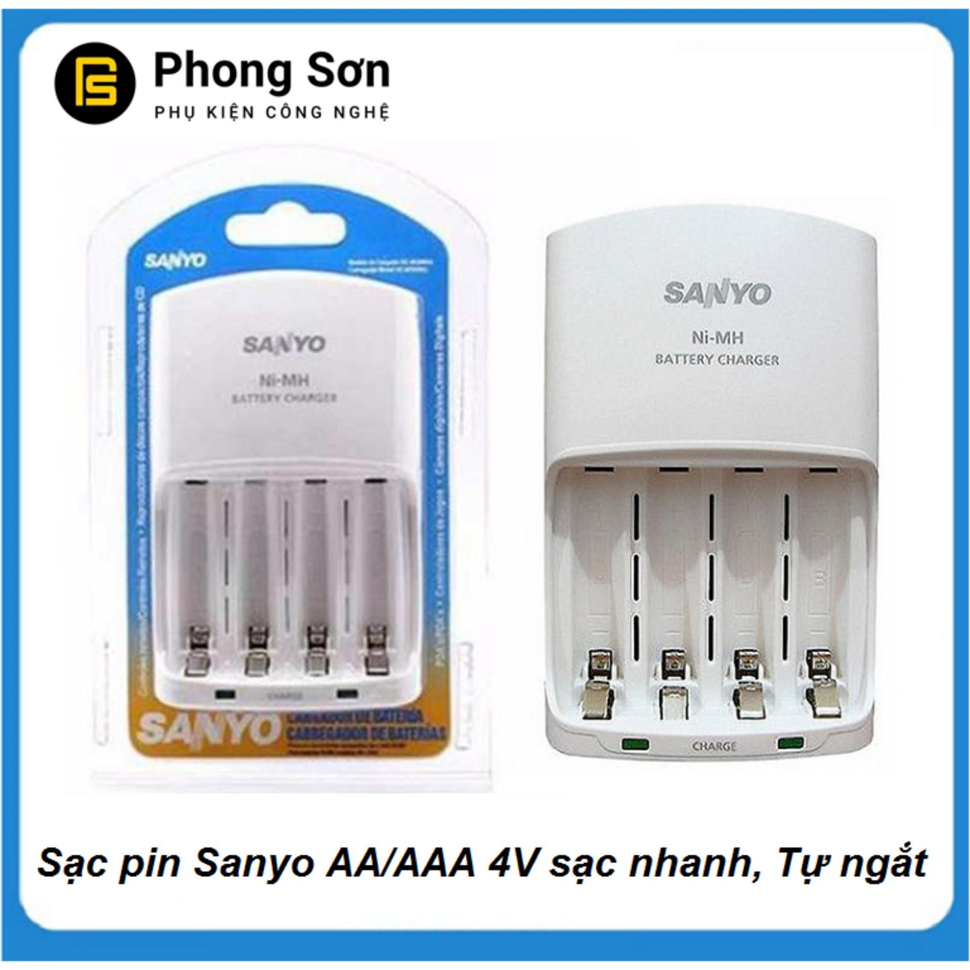 Coupon Khuyến Mãi Sạc Pin AA-AAA MQN06 Sanyo (sạc Nhanh)