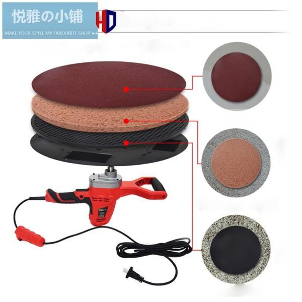 Máy xoa vữa trát tường đánh bóng đa năng - khấy sơn máy trà nhám - máy đánh bóng đa năng 380mm bảo hành 6 tháng.
