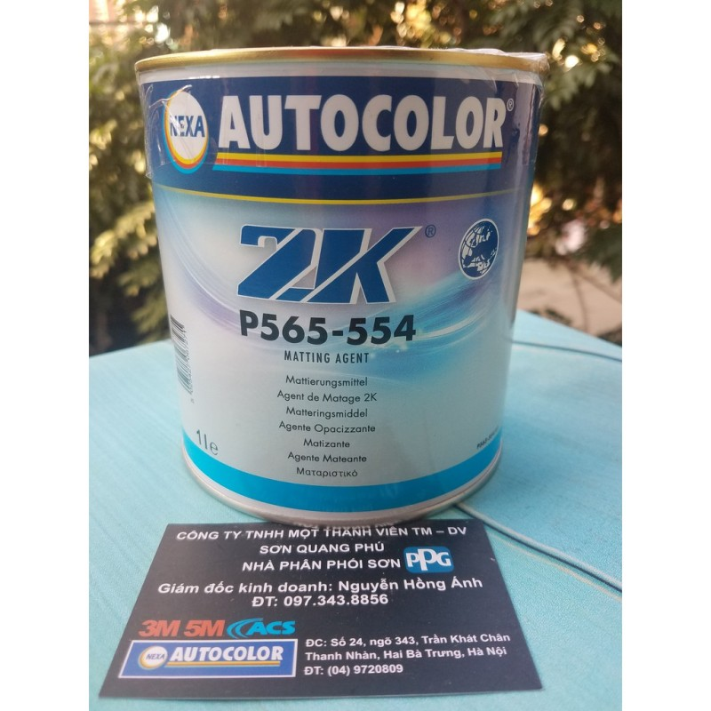 Chất tạo mờ - phụ gia làm mờ sơn cho ô tô xe máy hãng Nexa Autocolor