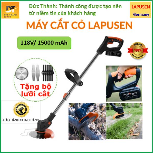 Máy cắt cỏ Pin Lapusen nhập khẩu Đức