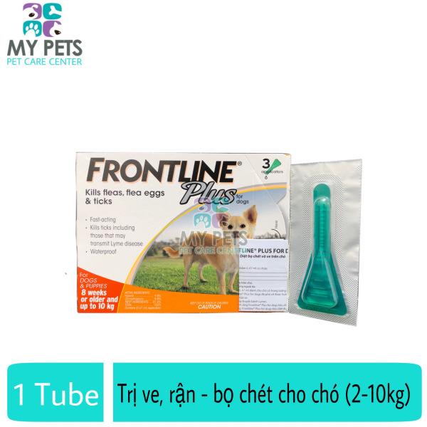 Frontline Plus nhỏ gáy hết ve rận, bọ chét cho chó (size 2-10kg) - Lẻ 1 tuyp. ( 1 tubes. no box)