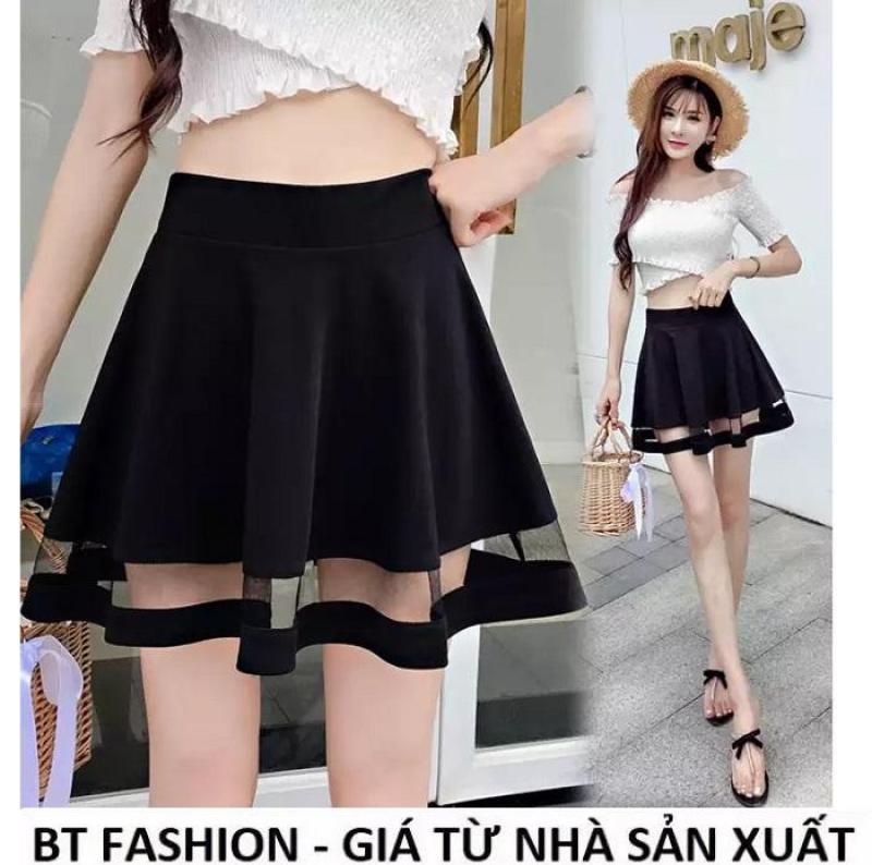 Chân Váy Xòe Lưng Thun Duyên Dáng Thời Trang Hàn Quốc - BT Fashion (VA04)