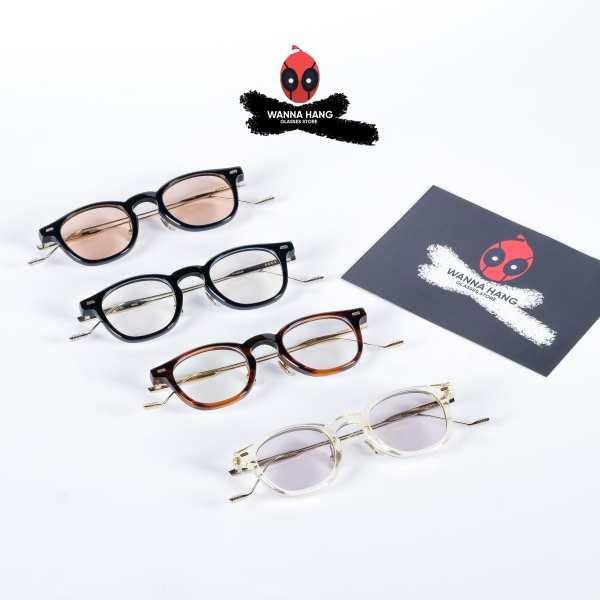 Giá bán Gọng kính cận Eddy (GM-110) phong cách Hàn Quốc thiết kế sang trọng mắt kính chống tia UV - Wanna Hang bảo hành 6 tháng