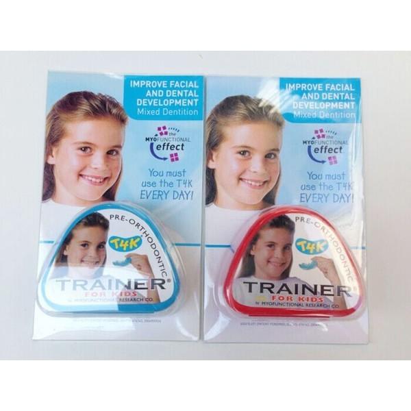 Chỉnh răng Trainer xanhhồng cho bé 6-12 tuổi (hàng nhập khẩu từ Úc), sản phẩm đa dạng, chất lượng tốt, đảm bảo an toàn sức khỏe người sử dụng