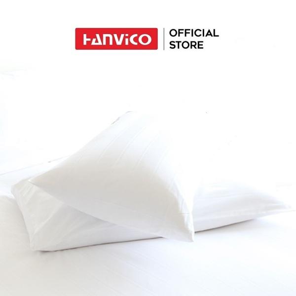 Vỏ gối HANVICO cotton sọc 5cm full size