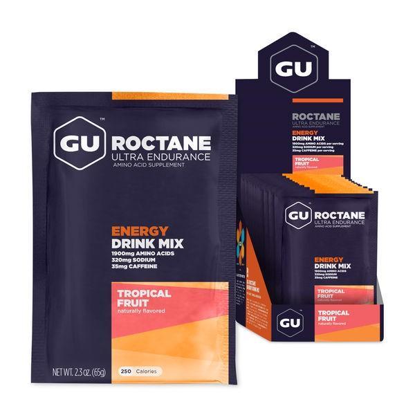 Bột năng lượng GU Roctane Energy Drink Mix Hộp 10 Gói - Trái cây tổng hợp