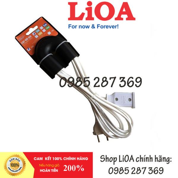 Dây điện nối dài LIOA 2 Lõi 10A C*-2-10A (màu trắng) giá rẻ
