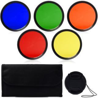 37mm Full colour Filter kit - Lens Cap - Filter Carrying Case for Olympus EM10 II III OM D E M10 E PL9 E PL8 14 42mm lens thumbnail