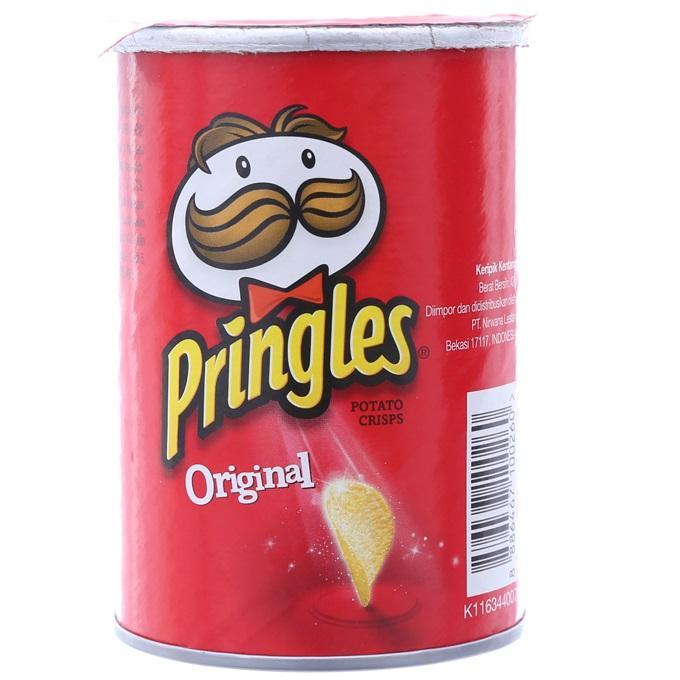 Snack khoai tây Pringles Original hộp 42g