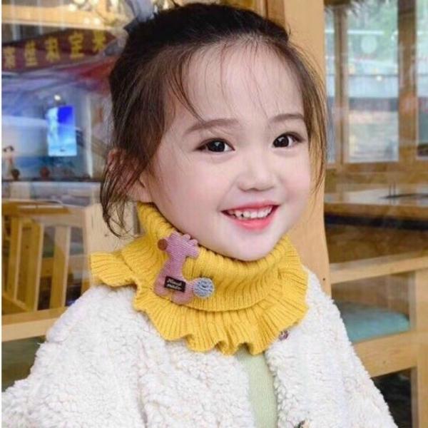 Giá bán Freeship - Khăn len quàng cổ siêu ấm siêu cute cho bé