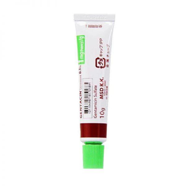 Kem trị sẹo Gentacin 10g Nhật Bản giúp diệt khuẩn hỗ trợ cả quá trình tái tạo làn da bị tổn thương Michio Store giá rẻ