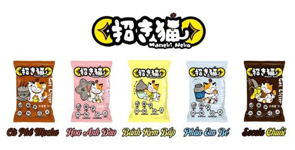 Cát vệ sinh cho mèo NEKO hương phấn