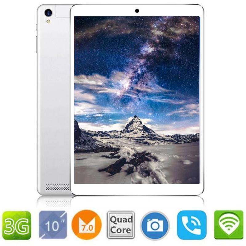 Máy tính bảng tablet học tập, giải trí có màn hình 10.1 inch Ram 2G, ROM 32G chip quad-core, 3G , wifi (BH 12 tháng)