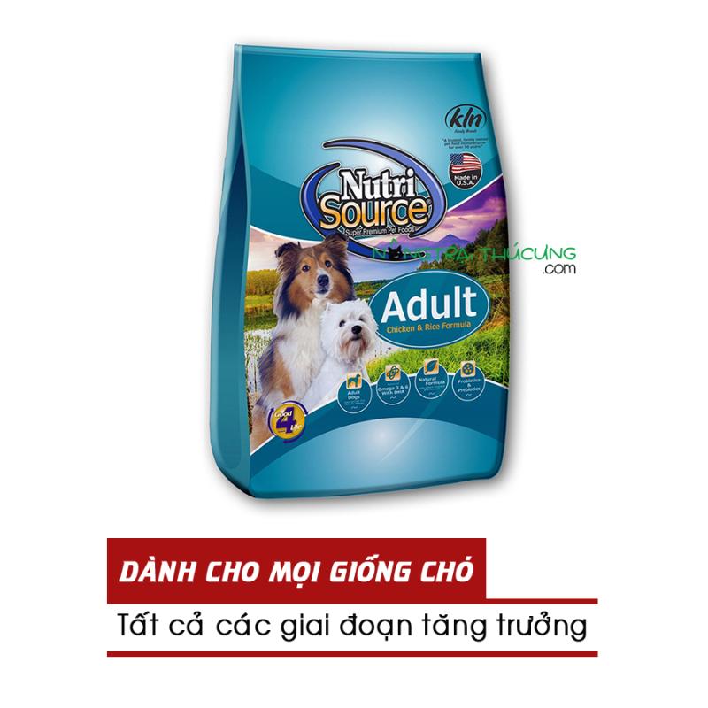 Thức ăn hạt cho chó NUTRISOURCE Adult - [Nông Trại Thú Cưng]