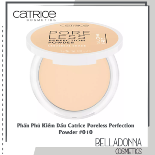 Phấn Phủ Kiềm Dầu Catrice Poreless Perfection Powder 010 Tone Da Trắng thumbnail
