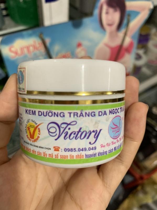 Kem dưỡng trắng da Ngọc trai victory Hoa Việt giá rẻ