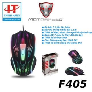 Chuột Game Thủ Motospeed F405 Optical Gaming Mouse thumbnail