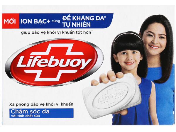Xà phòng Lifebuoy chăm sóc da 90g ( bảo vệ khỏi vi khuẩn ) cao cấp