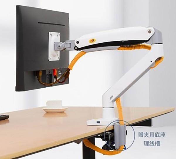 Bảng giá [Phiên Bản 2021] Giá treo màn hình máy tính NB F100A 22 - 35 inch tải trọng 12kg màu trắng Phong Vũ