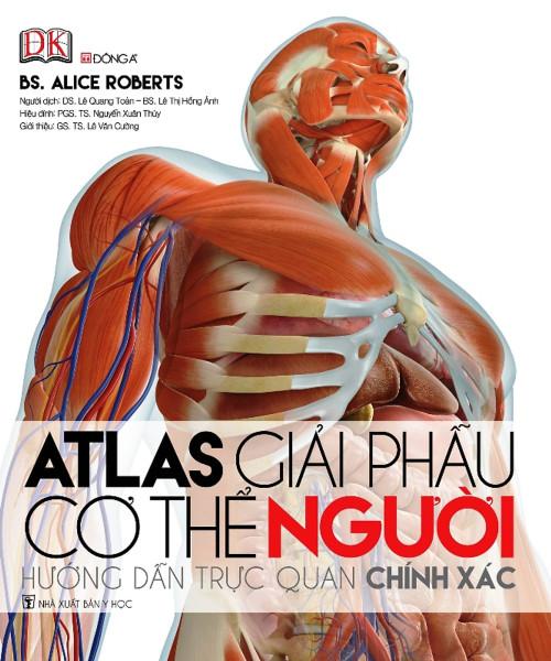 Mua Atlas Giải Phẫu Cơ Thể Người