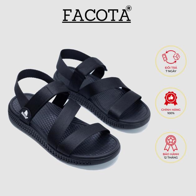 Giày sandal nữ Facota HA01 chính hãng sandal thể thao quai dù giá rẻ