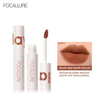 FOCALLURE Matte Mousse Lip Glaze Velvet-Mist Smooth Lipclay Lipcream Trang điểm lâu trôi Son môi không thấm nước thumbnail