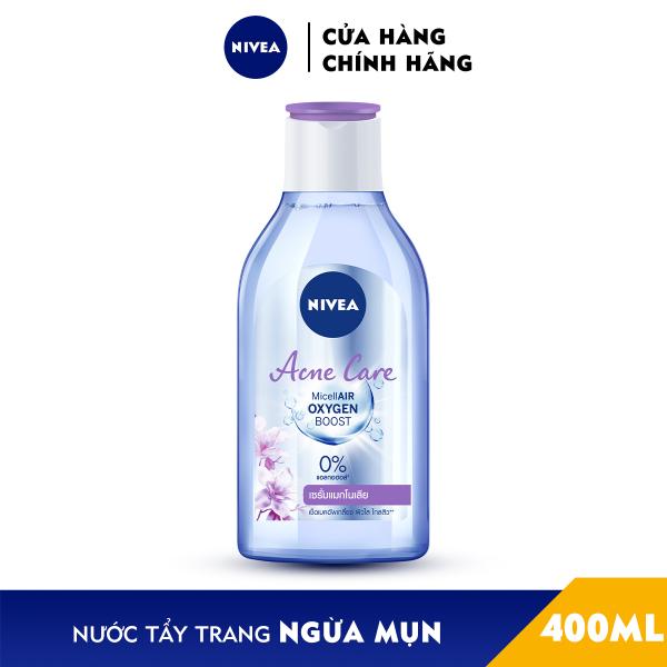 Nước tẩy trang NIVEA ngừa mụn Acne Care Micellar Water (400ml) - 80116 giá rẻ