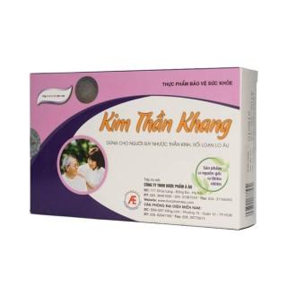Thực phẩm bảo vệ sức khỏe KIM THẦN KHANG giảm căng thẳng thần kinh, rối loạn lo âu thumbnail