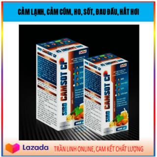 CHÍNH HÃNG SIRO CAMSOT CF - Các Triệu Chứng Cảm Lạnh, Cảm Cúm, Ho, Sốt, Đau Đầu, Hắt Hơi (28NCTL) thumbnail