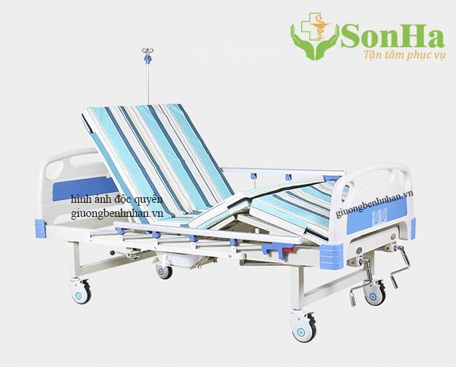 Giường y tế 2 chức năng nhập khẩu
