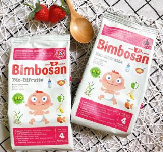 Bột ăn dặm hữu cơ Bimbosan vị trái cây cho bé - Organic Bifrutta thumbnail