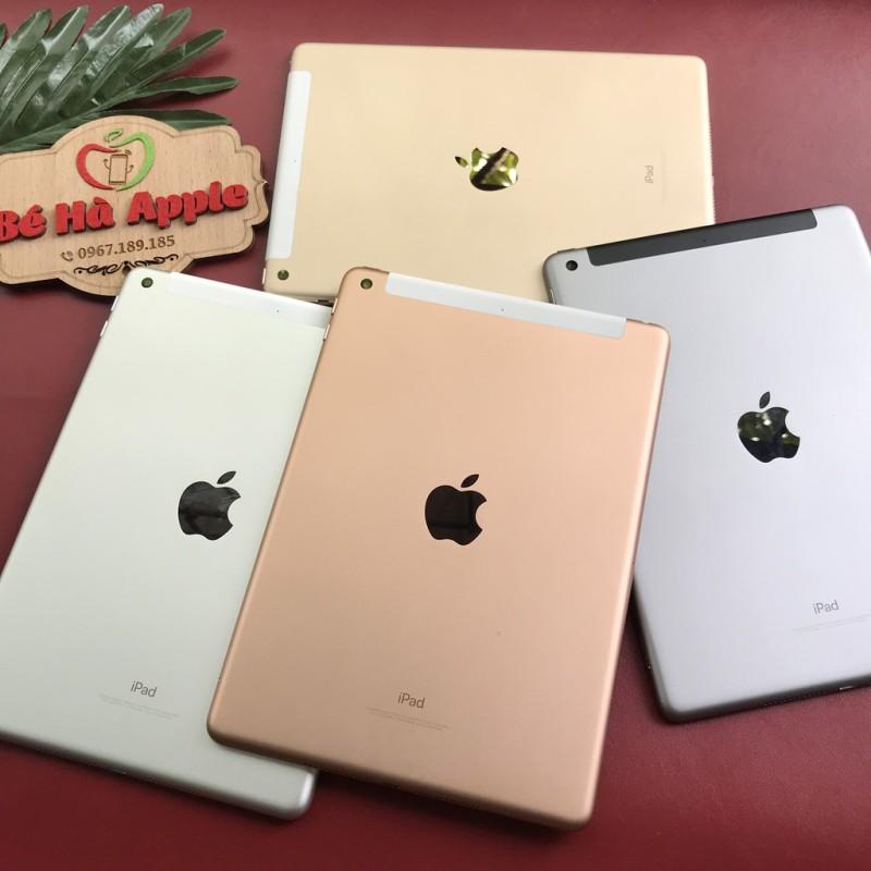 Máy Tính Bảng IPad Gen 6 - 2018 32Gb (Wifi + 4G) Còn bảo hành Apple - Zin Đẹp 99,9 Như Mới