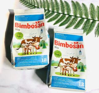 Sữa túi hữu cơ Bimbosan bio 12 400g thumbnail