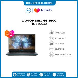 Trả góp 0% FREESHIP Laptop Dell Gaming G3 3500 (G3500A ) Core i7 10750H 15.6inch-120Hz FullHD Ram 8GB(Còn 1 slot) 512GB SSD Card Màn Hình NVIDIA GTX1650Ti 4G GDDR6 Win 10 Bản Quyền Bàn Phím Có Đèn Black thumbnail