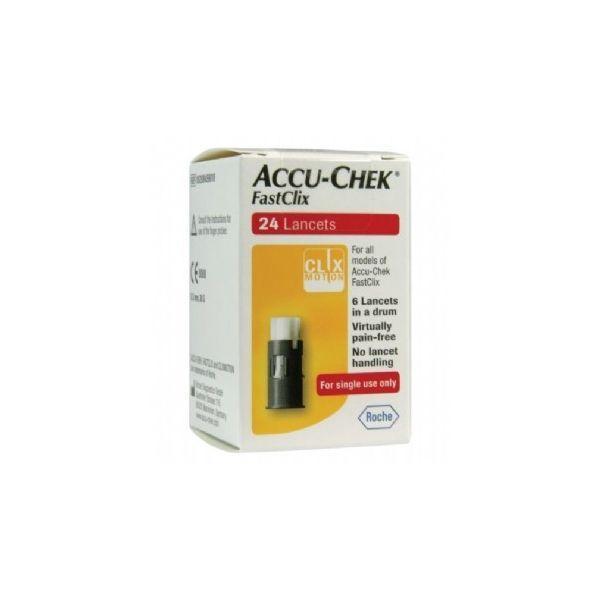 Kim Lấy Máu Accu-chek FastClix - 24 Lancets