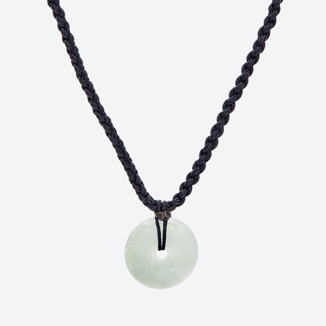 Mặt dây chuyền đá cẩm thạch phỉ thúy đồng điếu mệnh hỏa , mộc (màu xanh lá) - Ngọc Quý Gemstones