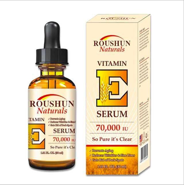 Serum Tinh Chất Vitamin E Mờ Thâm Trắng Sáng Đều Màu Da Roushun